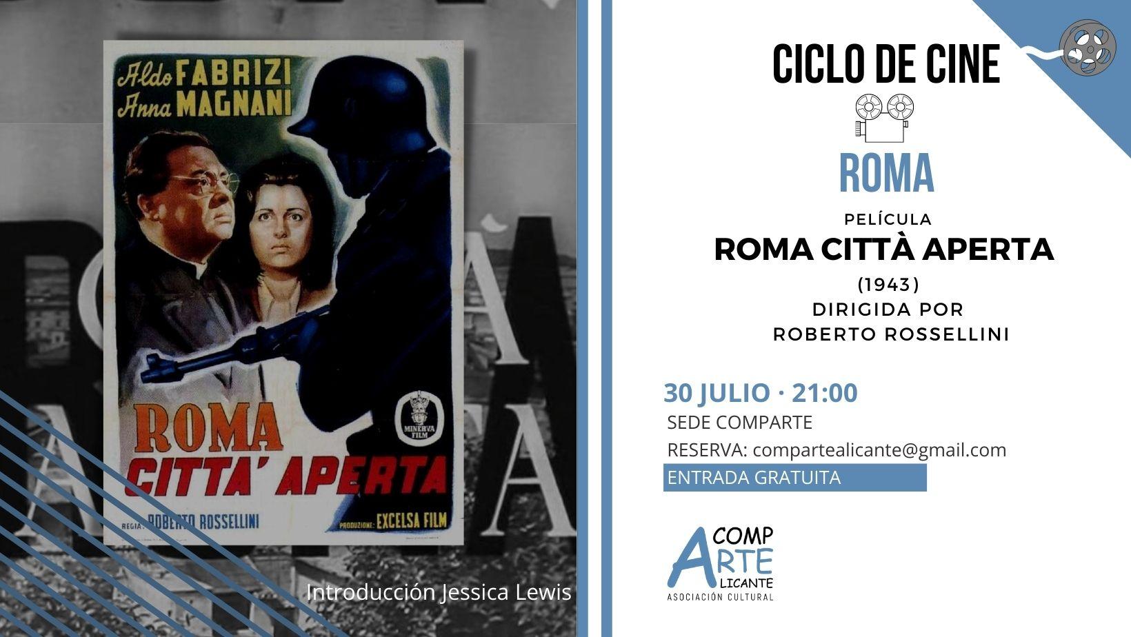 CICLO ROMA ROMA CIUDAD ABIERTA 1965